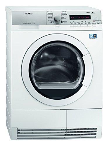 AEG T77684EIH Wärmepumpentrockner / A+++ / 177 kWh/Jahr / 8 kg / Weiß / Silent System