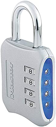 Master Lock 653D Locker Lock Set Your Own Combination Padlock, 1 Pack, Assorted Colors
