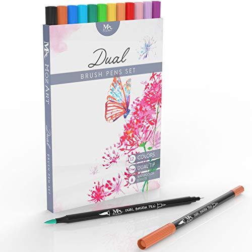 Mozart Dual Tip Brush Pen