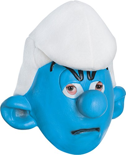 [The Smurfs Grouchy Mask] (Smurf Costumes Accessories)