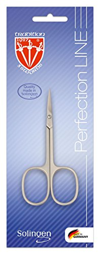 3 SWORDS GERMANY - cuticle scissor, nickel plated mat, Quality: Made in Solingen/Germany