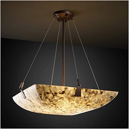 Justice Design Group Lighting ALR-9647-25-DBRZ-LED6-6000 Tapered Clips 51