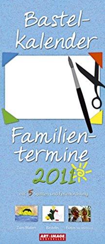 Bastelkalender Familientermine 2011