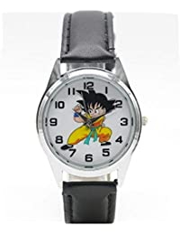 Dragon Ball Z Watch Boy Child Wristwatch for Children Anime Toy Round Shape