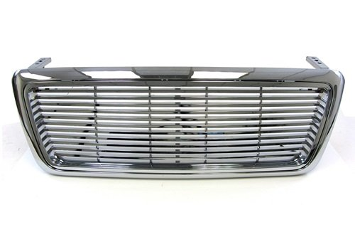 04-08 Ford F150 F-150 Chrome Billet Style Front Grille OEM Replacement Grill 05 06 07 -