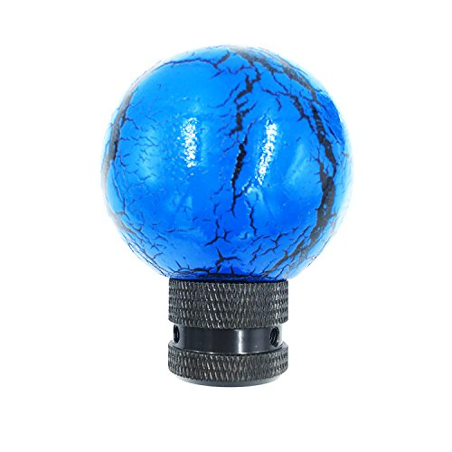 Ball Manual Shift Knob - Shifter Knobs Spherical Resin Thunder Ball Manual or Automatic Gear Knob Shift (blue)