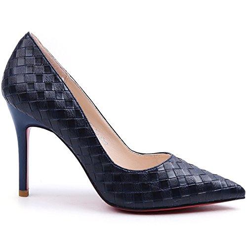 Stiletto pumps Stiletto Summer Pompe RBB Fashion 35 Tip Hem nero qE7anAw