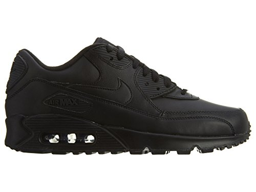 Black running Air Leather Zapatillas Negro Nike de 90 Max Black 001 Hombre dwzqISxYt