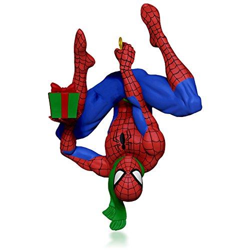 Hallmark Keepsake Ornament: MARVEL Spider-Man Spidey's Holiday (List All Marvel Super Heroes)