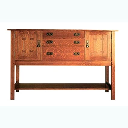 Build Your Own Mission Sideboard Plan American Furniture Design