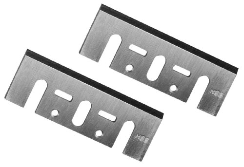 POWERTEC 128342 3-1/4-Inch HSS Planer Blades for DeWalt DW6655 DW677, DW678, and DW680K, Set of 2
