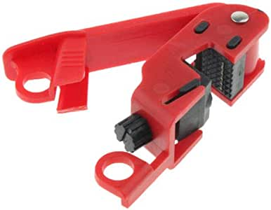 muxiLH Universal Mini Circuit Breaker Security Lockout Kit Safety Device Tagout Tool Accessories