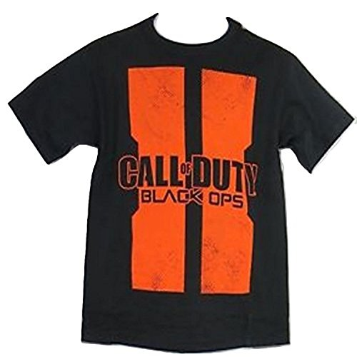 BioWorldCorps Call Of Duty Black Ops II Kids Youth T Shirt (XL, Black)