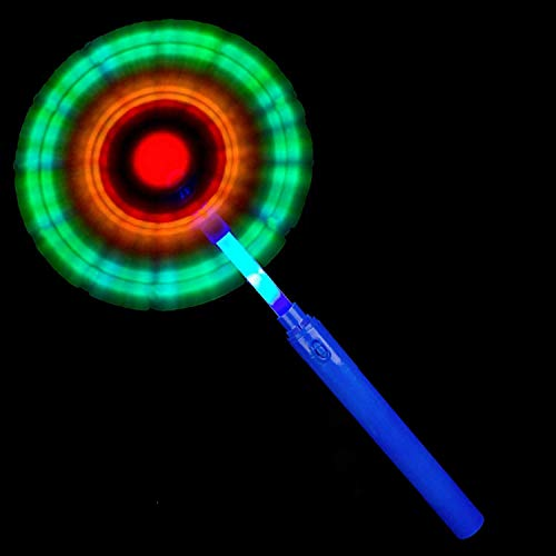 Fun Central X869, 14 inches LED Windmill Wand, Light Up Windmill Toy, Light Up Magic Wand