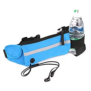 Hydration Belt by GRHOSE,Running Fuel Belt with One Water Bottles Pouch for Runners - 100% guarantee