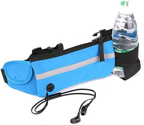 GRHOSE Hydration Belt, Running Fuel Belt with One Water Bottles Pouch for Runners – 100 Guarantee
