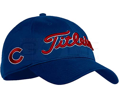 Titleist New 2017 MLB Golf Cap Snapback (Chicago Cubs, Tour Performance) (Chicago Cubs Golf)