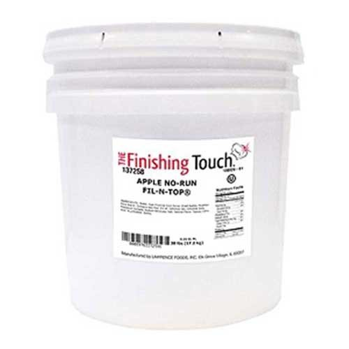 The Finishing Touch Apple No Run Fil N Top Filling, 38 Pound -- 1 each.