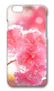 MOKSHOP Adorable double cherry blossoms Hard Case Protective Shell Cell Phone Cover For Apple Iphone 6 Plus (5.5 Inch) - PC 3D