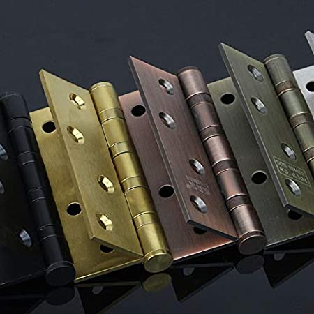 Stainless Steel Hinges for Furniture Flap Hinge Counter scharnieren Backflap Hinge bisagra scharnier 4 inch Color: Bronze