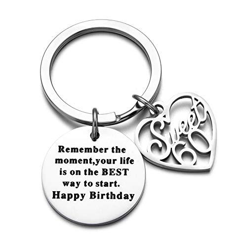 60th Birthday Gift 60th Birthday Keychain Birthday Gift Idea For 60th