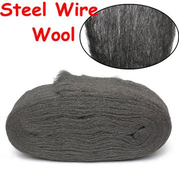 Steel Wire Wool Grade 0000 3.3m For Polishing Cleaning Remover Non Crumble