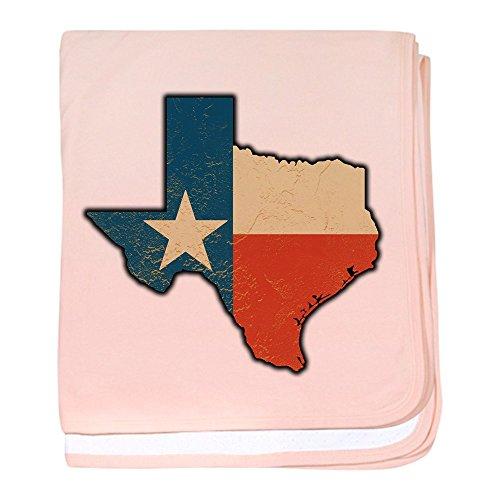 Beer Baby Blanket - Royal Lion Baby Blanket Texas Flag Texas Shaped - Petal Pink