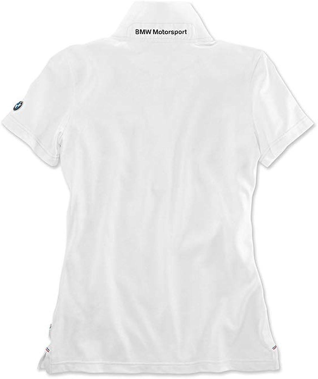 BMW Genuine Motorsport Ladies Womens Casual Short Sleeve Polo Shirt Tee Top
