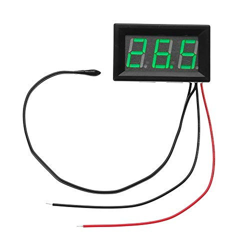 5V To 12V -50°C To -110°C Digital Thermometer Monitor Multipurpose Thermometer - Arduino Compatible SCM & DIY Kits Module Board - (Green) - 1 X DC 5V to 12V digital thermometer