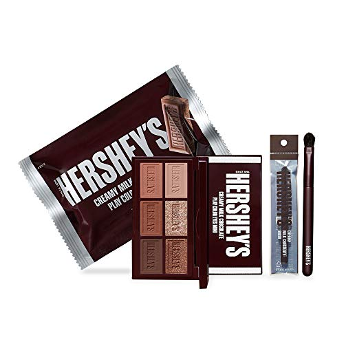 ETUDE HOUSE HERSHEY'S Chocolate Kit (Original) – Eyeshadow Pallette & Brush Set – Long Lasting For Eye Makeup