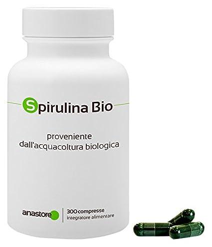 Anastore Comprimidos de Espirulina 500 mg - 300 Unidades