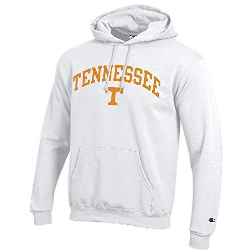 (Elite Fan Shop Tennessee Volunteers Hooded Sweatshirt Varsity White - L - Orange White)