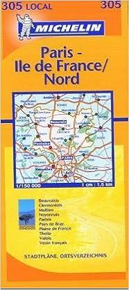 Amazon Fr Carte Routiere Oise Paris Val D Oise N 11305 Cartes Local Michelin Livres