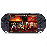 callm Handheld Game Console,5.0in LCD Color Screen Big Screen Handheld Video Console Street