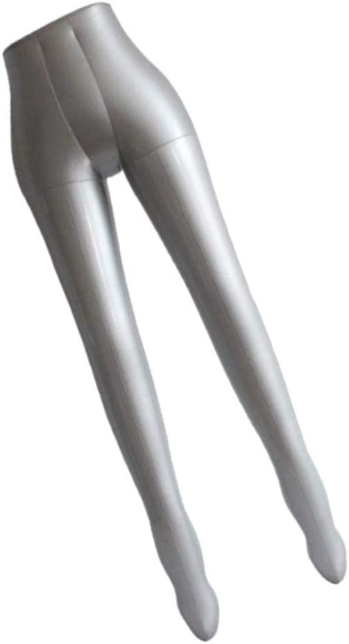 SDENSHI Mannequin Adulte Gonflable Femme Jambes Pantalon Robe Affichage Mannequin Torse Mod/èle