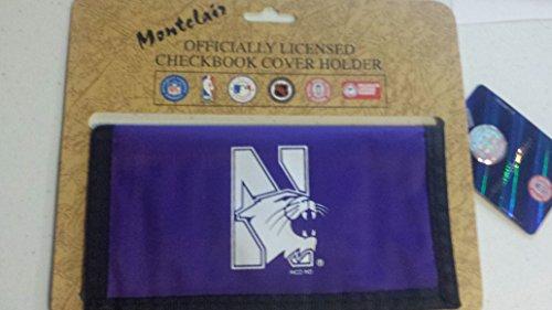 Nylon Checkbook Cover - Northwestern Wildcats Nylon Checkbook Cover