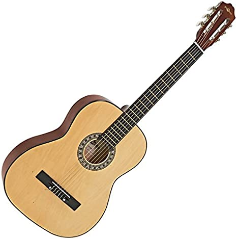 Guitarra Espanola de Gear4music Natural: Amazon.es: Instrumentos musicales