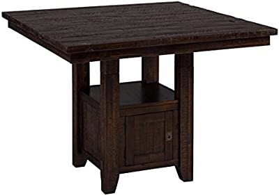 Amazon.com - Jaden Square Counter Height Table with Center