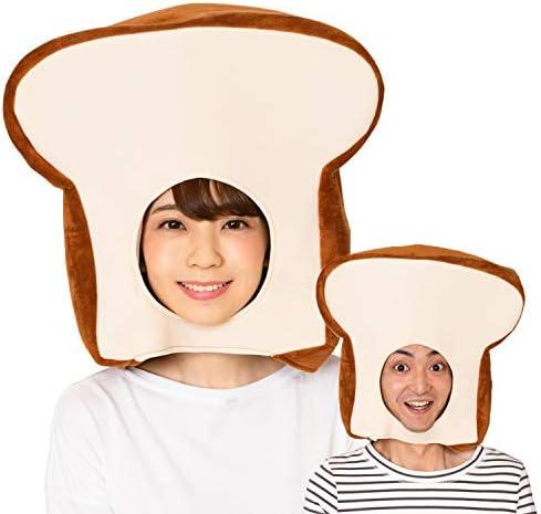 食パンのかぶりもの かぶりもの 食パン コスプレ ユニセックス (かぶりもん)