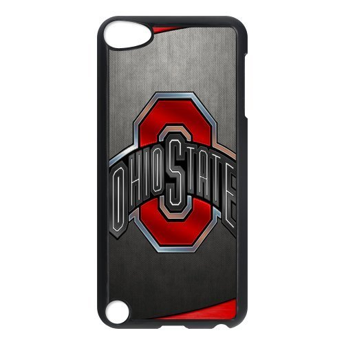 DIY Football Ohio State Buckeyes Custom Case Shell Cover for IPod Touch 5 TPU (Laser Technology)