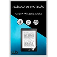 Película Kindle 8a Geração (Sem iluminação) e Antigo Kindle Paperwhite (Não a prova d'água) Fosca Anti-Risco Anti-Poeira Anti-Uv