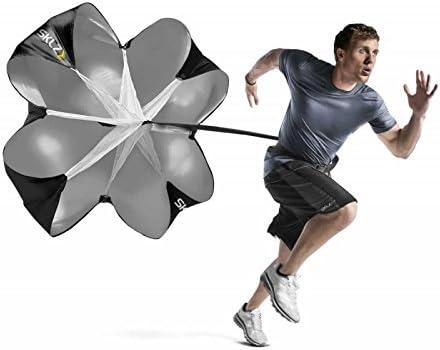 Sprint Training Workout Resistance Running Parachute [SKLZ Speed Chute] Picture