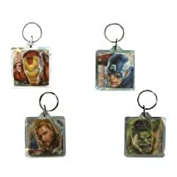 Marvel's Avengers Foil Keychains (6 Keychains), Assorted
