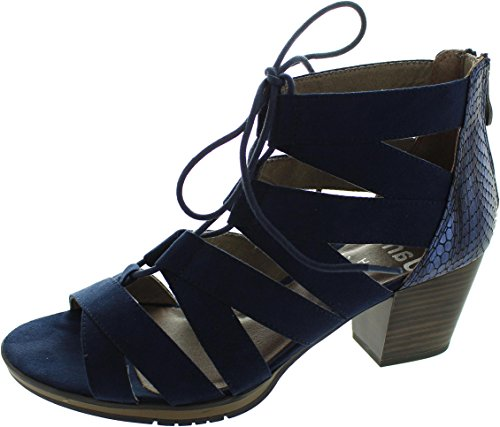 Jana 2-28307-38 805, Scarpe col tacco donna blu Blue