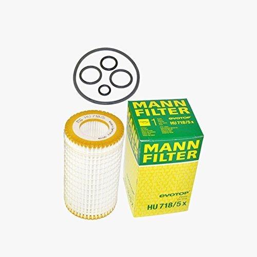 Mercedes Benz Slk300 Engine - Mercedes-Benz Engine Oil Filter Fleece Mann-Filter OEM H U7 18/5X (Pack of 2)