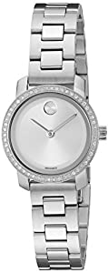 Movado Women's Swiss Quartz Stainless Steel Watch, Color: Silver-Toned (Model: 3600214)