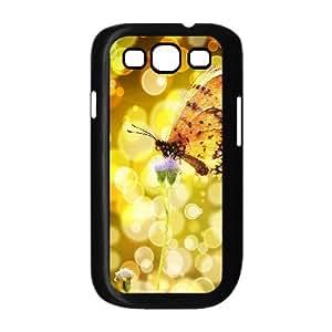 Butterfly ZLB537695 Custom Case for Samsung Galaxy S3 I9300, Samsung Galaxy S3 I9300 Case