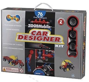 (ZOOB 0Z12052 ZOOBMobile Car Designer Moving Mind-Building Modeling System Assorted Colors 76-Pieces toy [parallel import goods])
