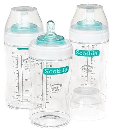 Amazon.com: El primer años de peluche 9 onzas botellas 3 PK ...