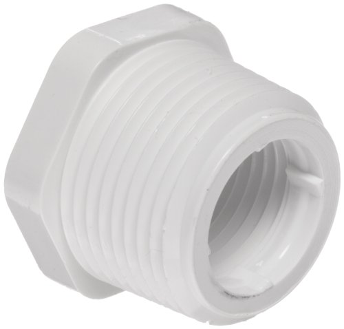 Spears 439 Series PVC Pipe Fitting, Bushing, Schedule 40, 3/4